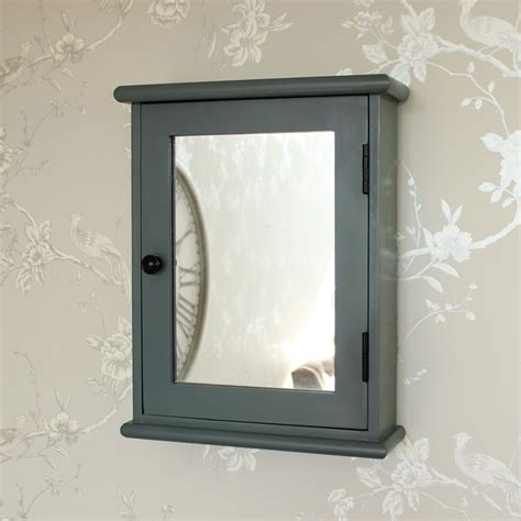 shabby chic wall cabinets for the bathroom grey wooden mirrored wall cabinet shabby french chic bathroom storage shelves ebay