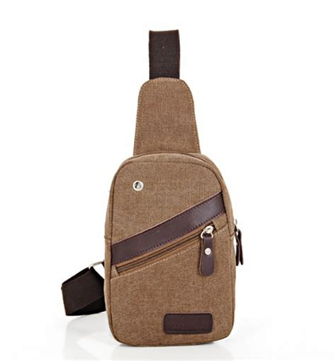 one shoulder sling backpack canvas bag unbalanced one shoulder sling backpack