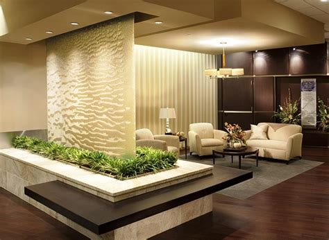 waterfall decoration for homes indoor glass waterfall design as element of decoration