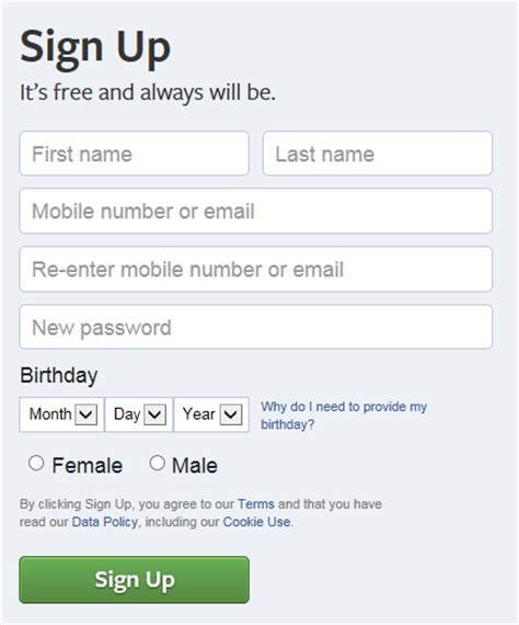 fb sign up how to create a small business facebook page the ultimate