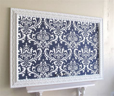 decorative magnetic boards for home navy blue magnet board wedding escort card holder by