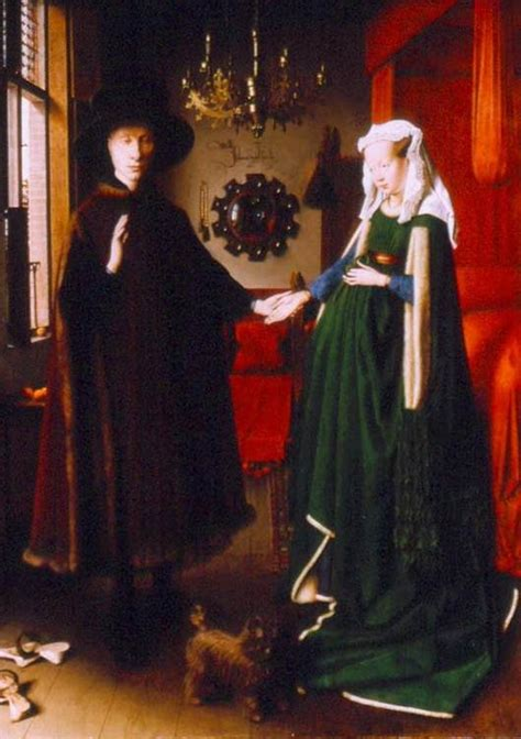 the arnolfini wedding portrait shake up the heavens the arnolfini wedding