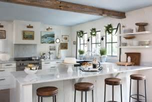 kitchens from country living bring modern finishes contemporary kitchen table round wood decorating ideas best home