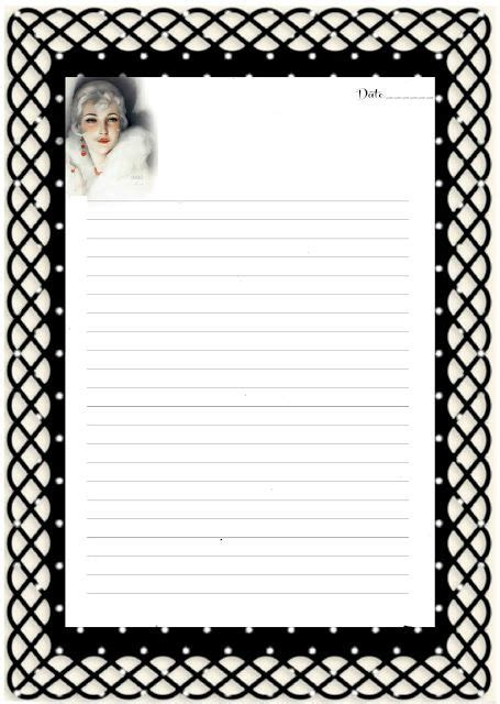 elr printable recipe journal 40 best images about 1 2 page stationery on pinterest