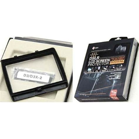 Sale Ggs Lll Lcd Screen Protector Nikon D300 Termurah ggs d3d3x iii screenprotector