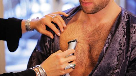 length to trim pubes trim male pubic hair men trim chest hair