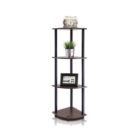 Tier Corner Shelf by Furinno Turn N 3 Or 4 Tier Corner Shelves