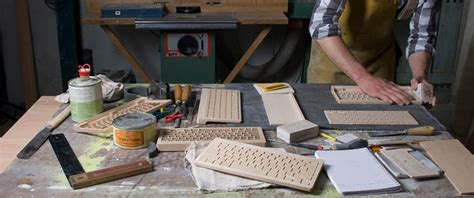 designboom wooden keyboard handfinished wooden keyboard features universal bluetooth