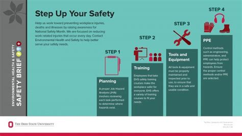 step up your safety environmental health and safety