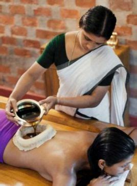 hot oil massage oil massage ayurvedic massage