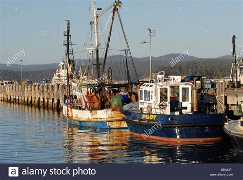 living on a boat in nsw fishing boats harbour australia stock photos fishing