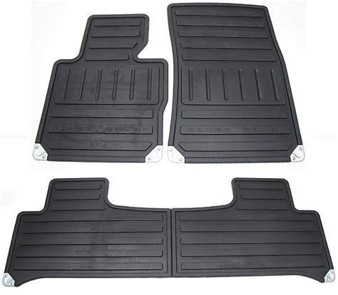 Range Rover Rubber Floor Mats by Range Rover Rubber Floor Mats Front And Rear Mats Black