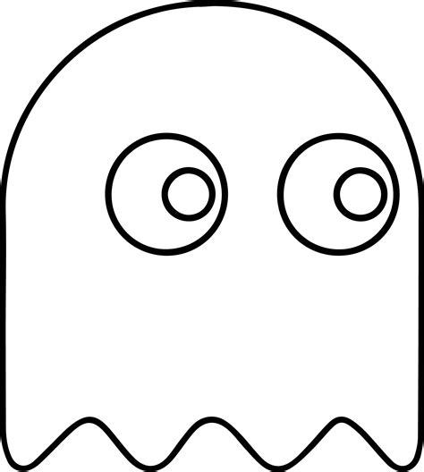 pacman ghost coloring pages pacman coloring pages jacb me