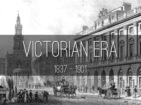 era victoriana the era 1837 1901
