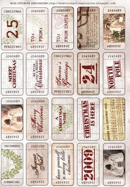 vintage christmas gift tags printable free 8 best images of vintage printable christmas name tags