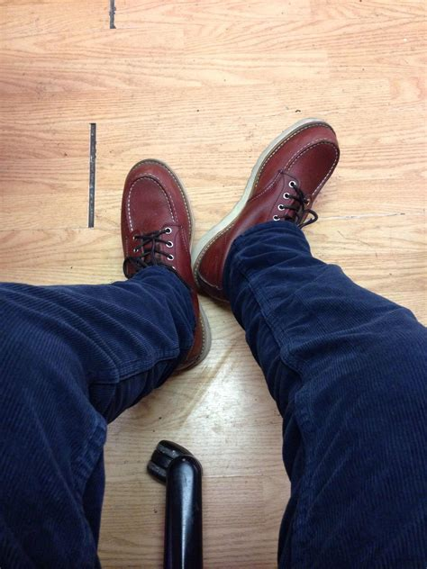 Wing 9105 Toe Copper Worksmith waywt shoe edition what shoe are you wearing today
