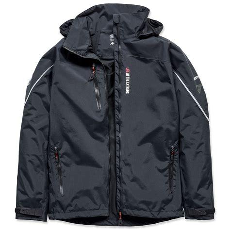 mens black volvo race alicante jacket by musto choice gear