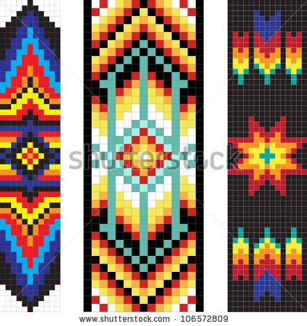 native american borders stock  images pictures