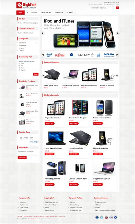 magento homepage template 20 awesome premium magento themes from themeforest