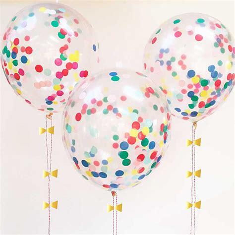 Upholstery Set Confetti Balloons Set Of 8 Rainbow Confetti Decor Meri