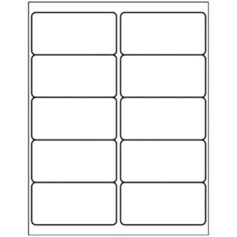 avery template 18663 templates shipping label 10 per sheet avery
