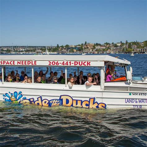 water boat tours seattle ride the ducks of seattle