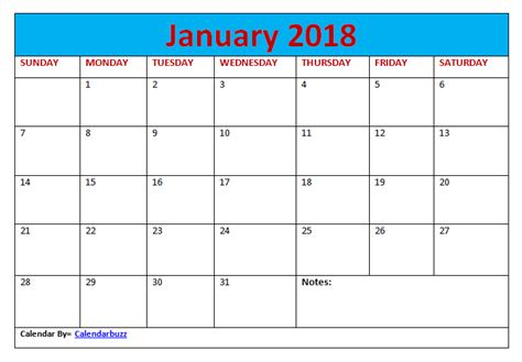 printable calendar 2018 free download 2018 monthly calendar free printable template download