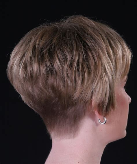 back view of wedge haircut short stacked wedge haircuts google search hair