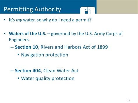 usace section 10 permit accessing your lake water supply during drought conditions