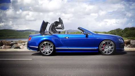 bentley convertible blue bentley continental gt speed convertible sequin blue