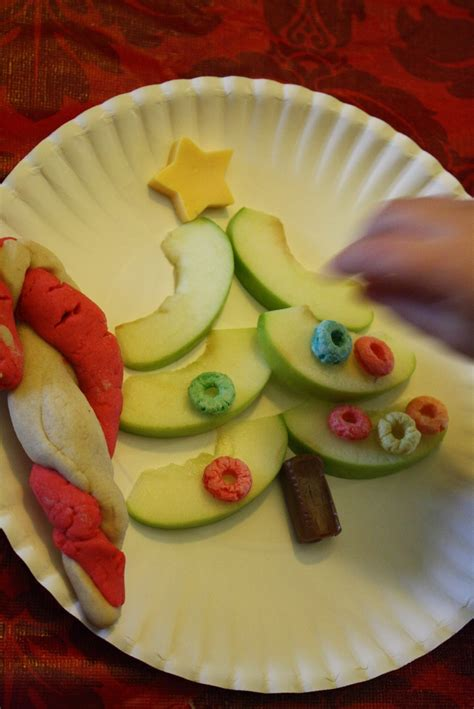 christmas snack christmas pinterest apple slices