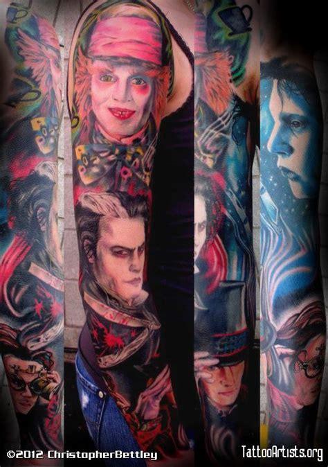 johnny depp arm tattoo johnny depp characters sleeve tattoos pinterest