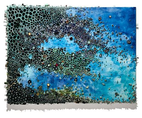 texture in painting intricate textured paintings resemble coral reefs my