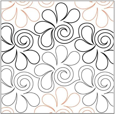 Pantograph Quilt Patterns by 1000 Images About Quilting Pantographs On
