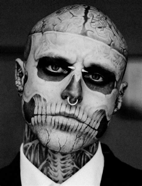 rick rocks tattoo rick genest on