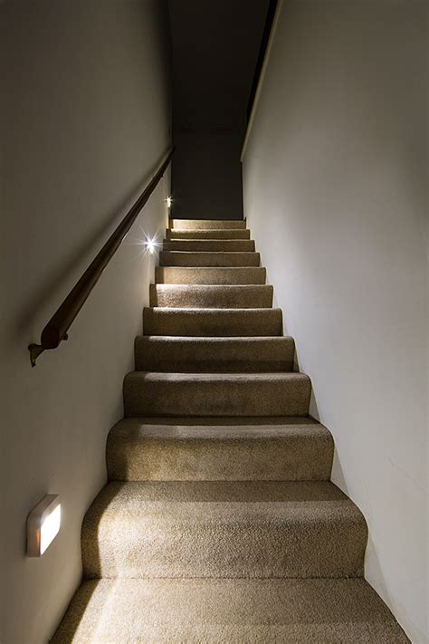 Stairway Lights by Readybright Wireless Power Outage Led Stair Light By Mr