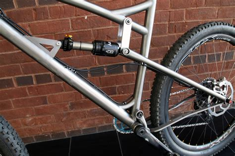Handmade Titanium Bicycles - nahbs 2015 dean titanium builds a handmade enduro bike