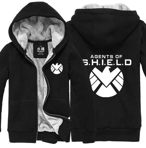 Hoodie Zipper Agents Of Shield 1 313 Clothing popular shield hoodie buy cheap shield hoodie lots from china shield hoodie suppliers on