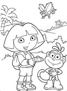dora 83 dora explorer printable coloring pages kids