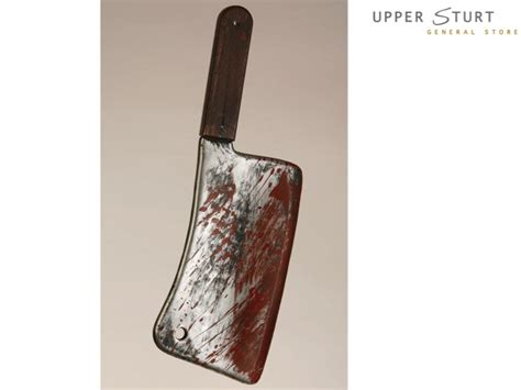 bloody weapons cleaver  piece upper sturt general store