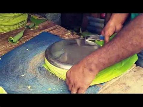Paper Banana Leaf Machine - banana leaf cutting in mylapore market