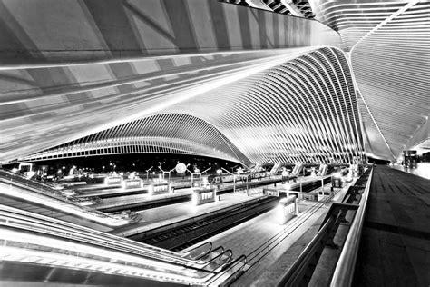 liege station liege guillemins tgv railway station belgium e architect