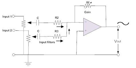 passive summing resistor values mixer resistor values 28 images passive summing resistor values 28 images file passive mixer