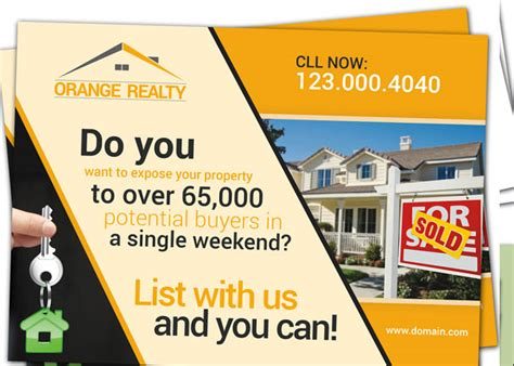 Every Door Direct Mail Eddm For Real Estate Agent Realtor Real Estate Mailer Templates