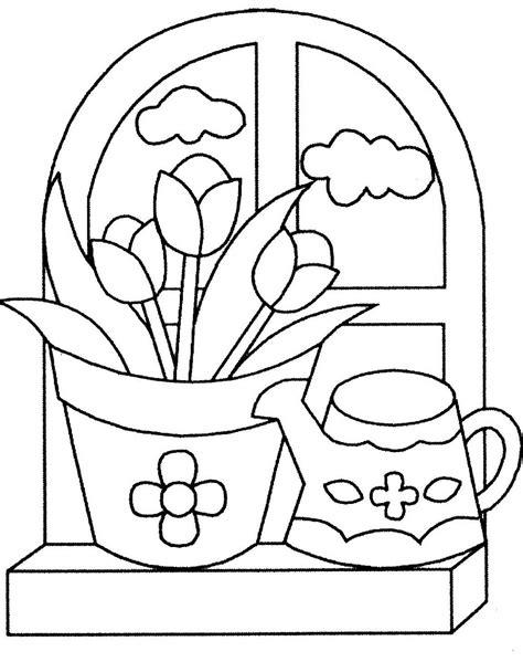 dibujos de macetas con flores para colorear mi colecci 243 n de dibujos dibujos de flores para colorear