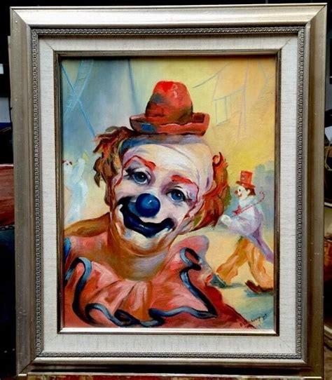 clown paint 25 best ideas about clown paintings on