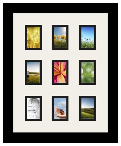 2x3 Photo Collage Frame by Arttoframes Collage Photo Frame With 9 2x3 Openings And