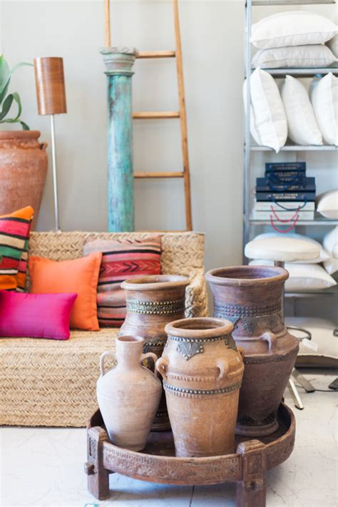 mediterrane möbel wohnzimmer gestalten rosa