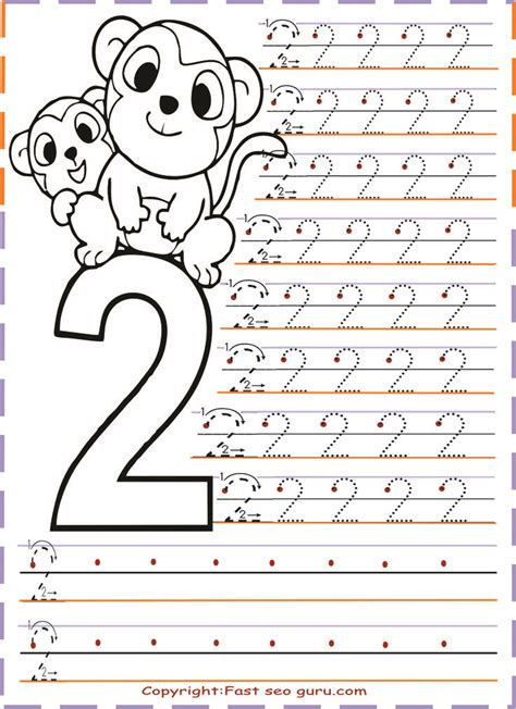 printable numbers exercise 12 best numbers images on pinterest kindergarten number