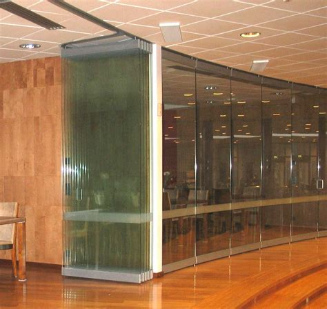 Wall Partition Movable Glass Walls As Amazing Interior Design Office